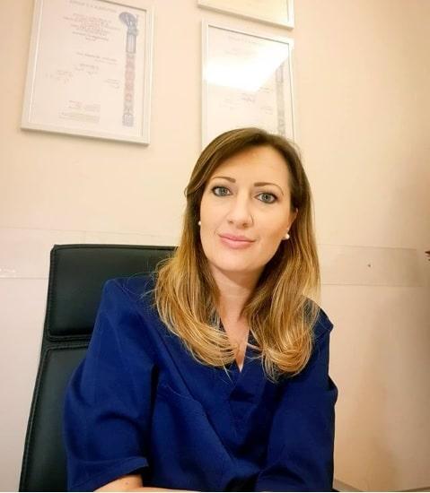 La Dott.ssa Alessandra Lusi